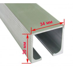 Профиль раздвижной системы EKF 120101 (2м) 80 кг