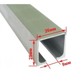 Профиль раздвижной системы EKF 120100 (3м) 40 кг