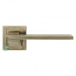 Ручка на розетке MVM Z-1324 City AB (старая бронза)