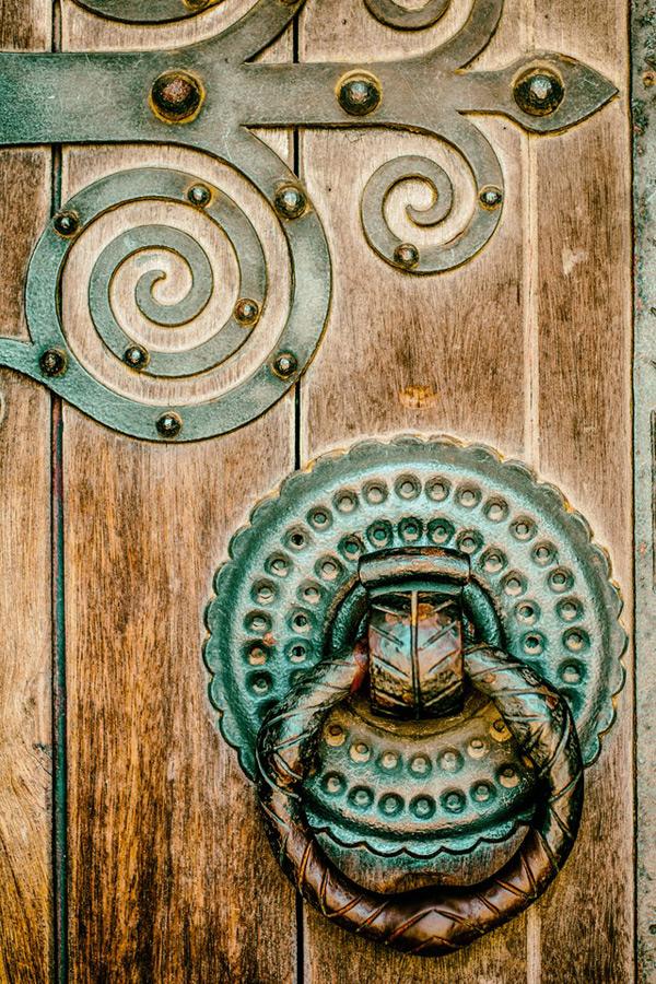 Дверная ручка в марокканском стиле